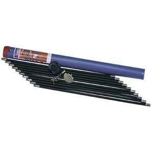 Pipe and Drain Cleaning, Draper 53856 9M Polypropylene Drain Rod Set in Case (13 Piece), Draper