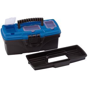 Tool Boxes, Draper 53875 315mm Tool Organiser Box with Tote Tray, Draper