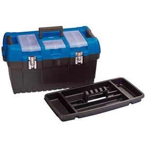Tool Boxes, Draper 53887 560mm Large Tool Box with Tote Tray, Draper