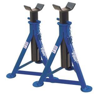 Axle Stands, Draper Expert 54721 2 Tonne Axle Stands (Pair), Draper