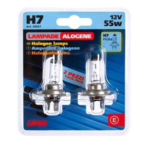 Bulbs - by Vehicle Model, 1V Halogen lamp - H7 - 55W - PX6d -  Bulbs - Blister Pack - Opel CORSA E 2014 Onwards, Lampa