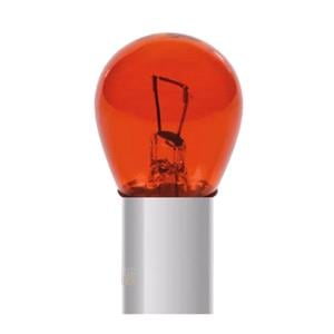 Bulbs - by Bulb Type, 12V Red Dyed Glass, Single filament lamp - P21W - 21W - BA15s - 2 pcs  - D-Blister, Pilot