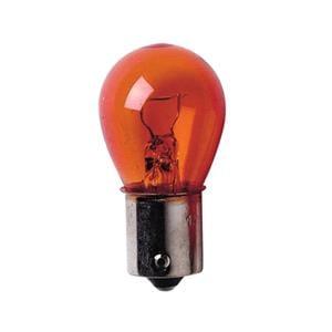 Bulbs - by Bulb Type, 12V Single filament lamp - PY21W - 21W - BAu15s - 2 pcs  - D-Blister - Amber, Lampa