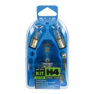 Bulbs - by Bulb Type, Spare lamps kit 8 pcs, 12V - H4 halogen, Lampa