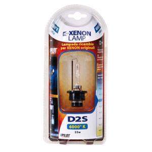 Bulbs - by Bulb Type, HID Xenon Lamp 6.000°K - D2S - 35W - P32d-2 - 1 pcs  - D-Blister, Pilot