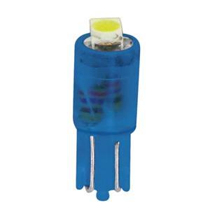 Bulbs - by Bulb Type, 12V Hyper-Led 2 - 1 SMD x 2 chips - (T5) - W2x4,6d - 2 pcs  - D-Blister - Blue, Pilot