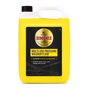 Exterior Cleaning, Simoniz Pressure Washer Detergent 5L, Simoniz