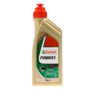 Engine Oils and Lubricants, Castrol Power 1 4T - 4 Stroke - 10W-40 - Semi Synthetic - 1 Litre, Castrol