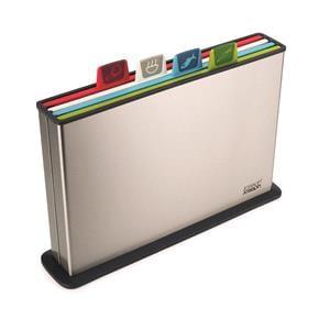 Utensils & Gadgets, Joseph Joseph Index Steel Chopping Board Set, JosephJoseph