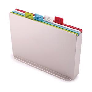 Utensils & Gadgets, Joseph Joseph Index Chopping Board Set - Silver, JosephJoseph