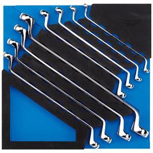 1/2 Drawer EVA Insert, Draper Expert 63523 Ring Spanner Set in 1-2 Drawer EVA Insert Tray (8 Piece), Draper