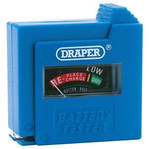 Battery Testers, Draper 64514 Dry Cell Battery Tester, Draper