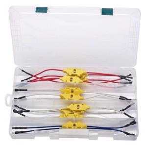 Battery Testers, Draper Expert 64784 Relay Test Lead Kit (13 piece), Draper