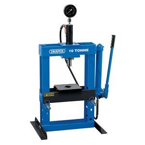 Hydraulic Floor Presses, Draper 70538 10 Tonne Bench Press, Draper