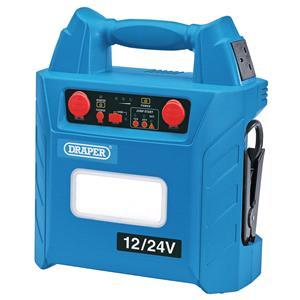 Jump Starter, Draper 70554 12V-24V Jump Starter (3000A), Draper