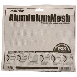 Body Repair and Preparation, Aluminium Mesh - 25cm x 20cm, ISOPON