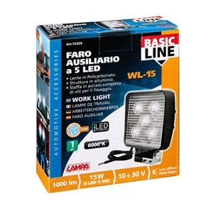 Special Lights, WL-15, auxiliary light, 5 Led - 10-30V - White, Lampa