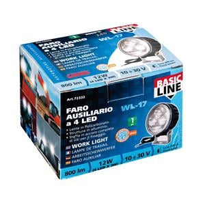 Special Lights, WL-17, auxiliary light, 4 Led - 10-30V - White, Lampa