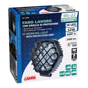 Special Lights, WL-22, auxiliary light, 16 Led - 9-32V - White, Lampa