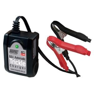 Battery Charger, Maypole Automatic Trickle Battery Charger - 12V - 0.5A CE, MAYPOLE
