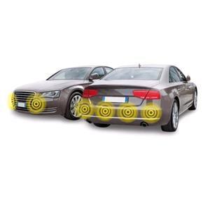 Parking Sensors, 6 Parking Sensors with Digital Display, 12V, Lampa