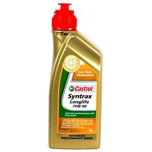Gearbox Oils, Castrol Syntrax Longlife 75w90 Gear Oil - 1 Litre, Castrol