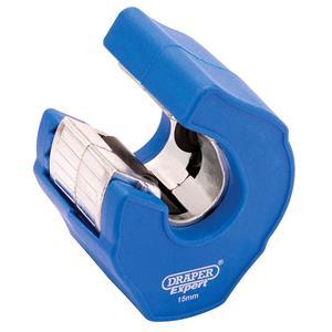 Metal Pipe Cutting, Draper 81078 Automatic Ratchet Pipe Cutter (15mm), Draper