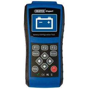 Fault Code Readers, Draper Expert 81282 Battery Configuration Tool, Draper