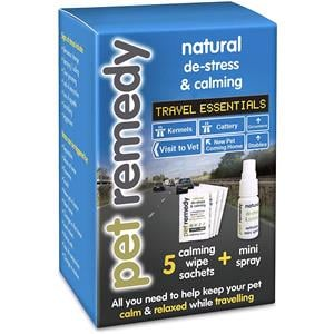 Dog and Pet Travel Accessories, Pet Remedy Travel Essentials Anti Anxiety Pet Kit , Pet Remedy