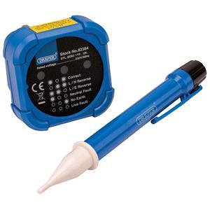 Testers and Detectors, Draper 82384 Socket and Voltage Testers (600V), Draper