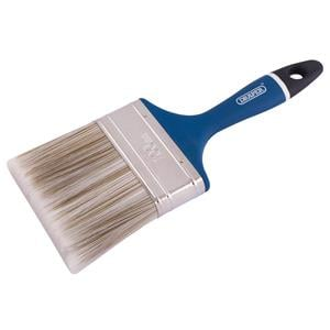 Painting and Decorating Brushes, Draper 82494 Soft Grip Handle Paint-Brush 100mm (4 inch), Draper