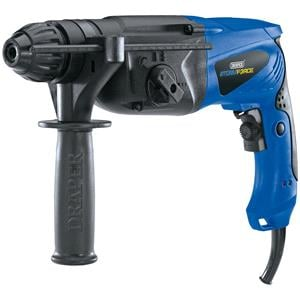 Drills and Cordless Drivers, **Discontinued** Draper 83588 Storm Force SDS+ Rotary Hammer Drill Kit with Rotation Stop (850W), Draper