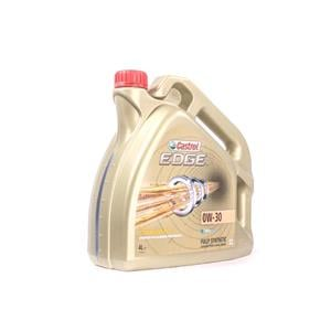 Engine Oils and Lubricants, Castrol Edge 0W-30 Titanium FST Fully Synthetic Engine Oil - 4 Litre, Castrol