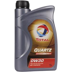 Engine Oils and Lubricants, TOTAL Quartz 9000 Energy 0W-30 Fully Synthetic Engine Oil - 1 Litre, Total