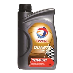 Engine Oils and Lubricants, TOTAL Quartz Racing 10w50 Fully Synthetic Engine Oil - 1 Litre, Total