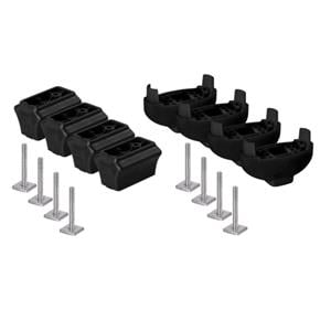 Surfboard and Canoe Holders, Extension, ski carrier spacers kit, NORDRIVE