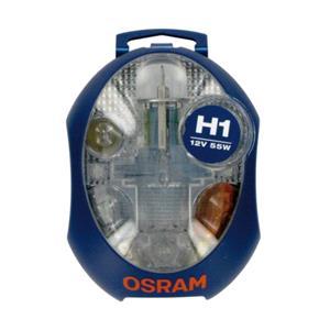 Bulbs - by Vehicle Model, Osram Original H1 1V Spare Bulb Kit    for Opel ANTARA, 2006-2015, Osram
