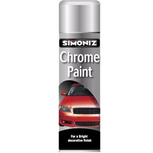 Funky Car Paints, Simoniz Chrome Paint - 500ml., Simoniz