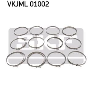 Assortment, clamps, SKF Assortment, clamps, SKF