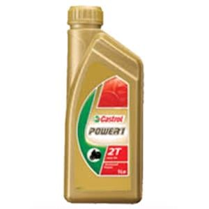 Engine Oils and Lubricants, Castrol Power 1 2T - 2 Stroke - Semi Sythnetic - 1 Litre, Castrol