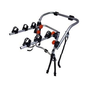 Bike Racks, Aguri Spider 3 Rear Mounted Bike Rack - Silver, Aguri