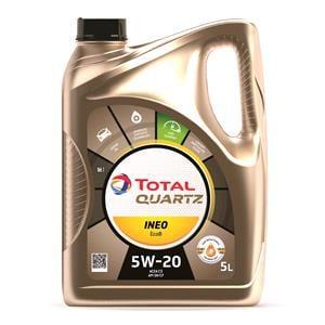 Engine Oils and Lubricants, TOTAL Quartz INEO EcoB 5W-20 Engine Oil - 5 Litre , Total