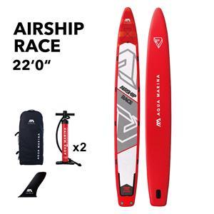 """All SUP Boards, Aqua Marina Airship (2020) 22'0"""" Race SUP Paddle Board, Aqua Marina"""