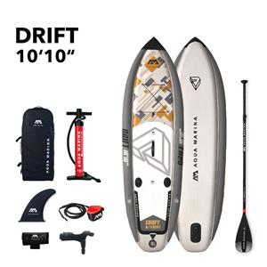 "All SUP Boards, Aqua Marina Drift Fishing (2020) 10'10"" SUP Paddle Board with Fishing Cooler Box, Aqua Marina"