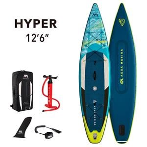 "All SUP Boards, Aqua Marina Hyper (2021) 12'6"" SUP Paddle Board, Aqua Marina"