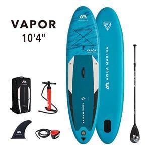 "All SUP Boards, Aqua Marina Vapor (2021) 10'4"" SUP Paddle Board, Aqua Marina"