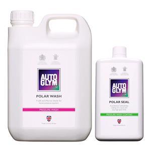 Car Care Kits, Autoglym Polar Wash & Polar Seal Bundle, Autoglym