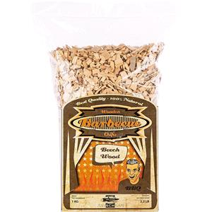 BBQ Accessories, Axtschlag Barbecue Wood Smoking Chips - Beech Wood 1kg, Axtschlag