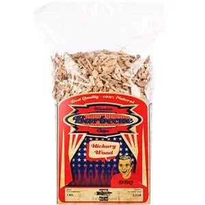 BBQ Accessories, Axtschlag Barbecue Wood Smoking Chips - Hickory Wood 1kg, Axtschlag