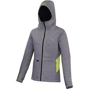 SUP Wear, Aqua Marina Nicci Women's Neoprene Jacket - Grey - Size S, Aqua Marina